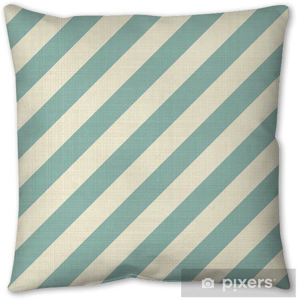 retro seamless geometric pattern Pillow Cover - Backgrounds