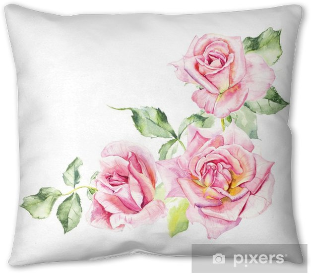Rosebush Pattern From Pink Rose Wedding Drawings Watercolor Painting Greeting Cards Rose Background Watercolor Composition Flower Backdrop Pillow Cover Pixers We Live To Change