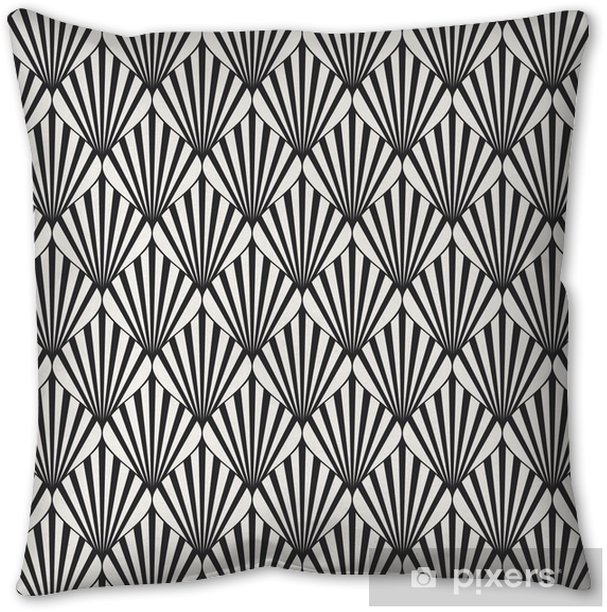seamless geometric pattern Pillow Cover - Graphic Resources