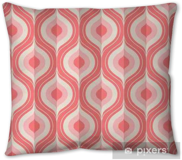 seamless vintage geometric pattern Pillow Cover - Graphic Resources