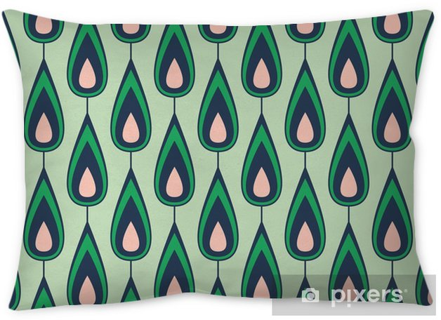 seamless vintage pattern Pillow Cover - Graphic Resources