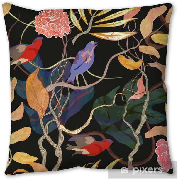 trendy seamless pattern with harbor theme Pillow Cover - Time