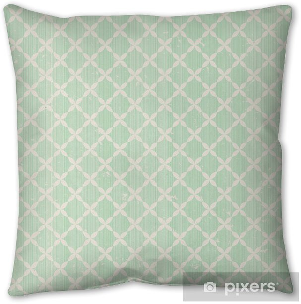 vintage seamless pattern Pillow Cover - Themes