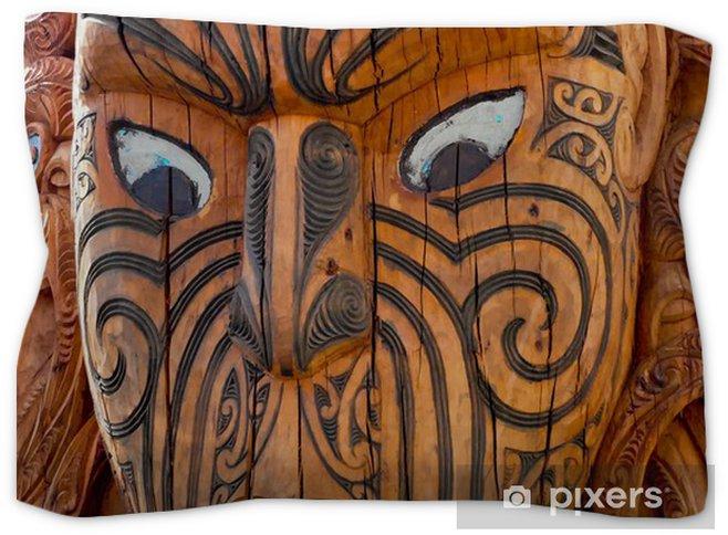 6e9c14e8e0bc9 Maori Warrior Mask Pillow Sham • Pixers® • We live to change