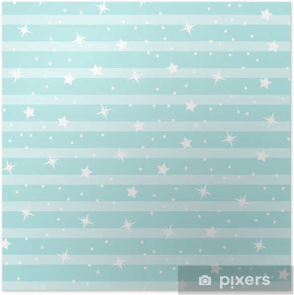 73f84c1ae Plakat Abstrakt sømløs babystjerne mønster for jenter, gutter, klær,  sportsklær. kreativ vektor bakgrunn med stjerner og himmel. morsom baby ...