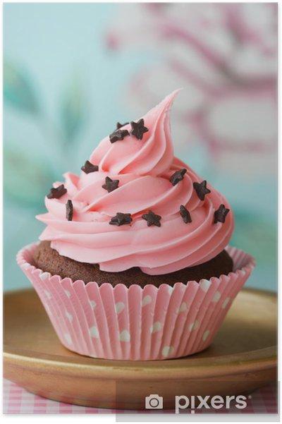Cupcake Plakat -