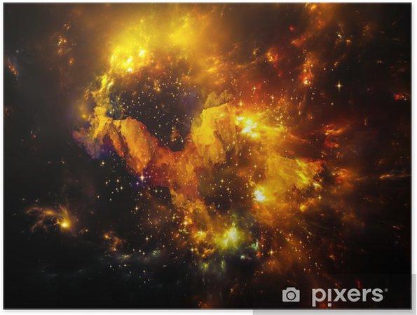 Dybde af nebulaen Plakat -