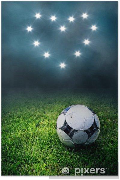 563b7e53 Plakat Fotball Kjærlighet • Pixers® - Vi lever for forandring