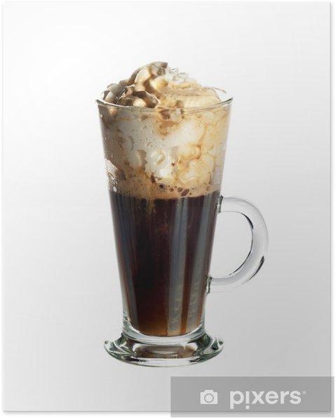 Fantastisk Irsk kaffe cocktail Plakat • Pixers® - Vi lever for forandringer MR57