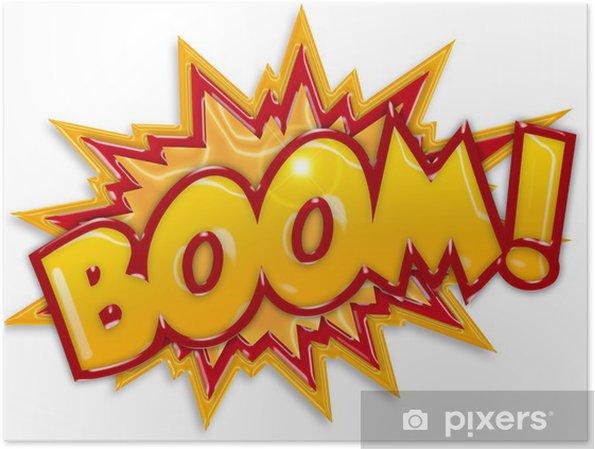 Plakat Komisk boom - Themes