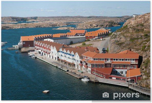 86e7323d Kungshamn - Sverige Plakat • Pixers® - Vi lever for forandringer