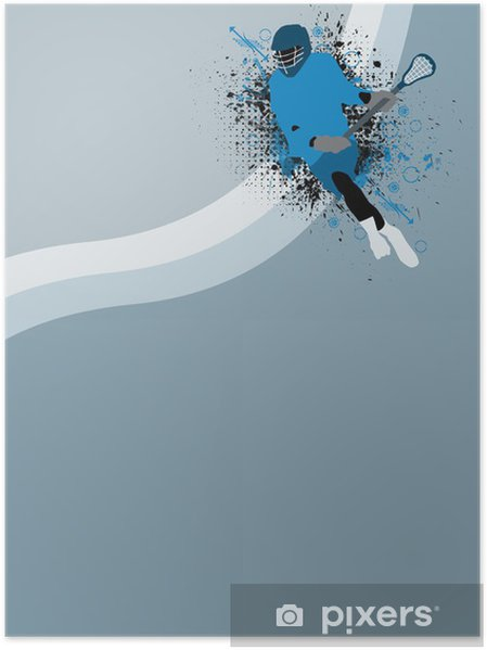 Plakat Lacrosse bakgrunn - Bakgrunner