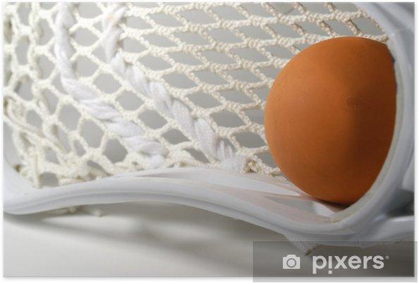 Plakat Lacrosse hode makro - Sportsutstyr