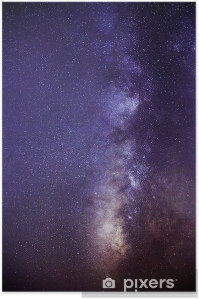 Milky way Plakat -