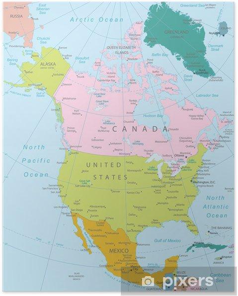 kart nord amerika