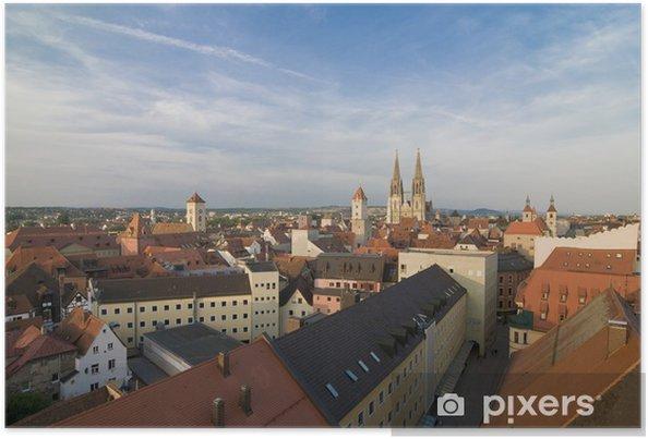 Plakat Regensburg über Pustet Passage - Europa