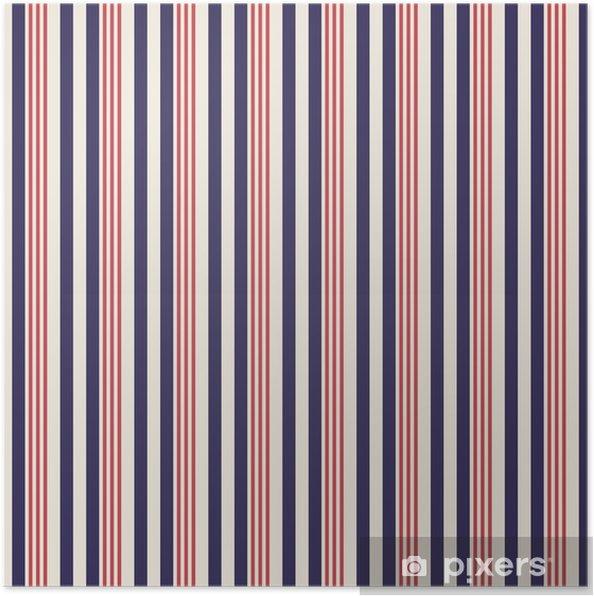 e1a21a76 Plakat Retro usa farge stil sømløse striper mønster. abstrakt vektor  bakgrunn.