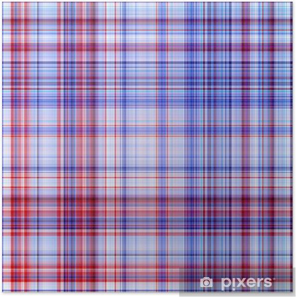 faf4f16f Plakat Rød og blå farger abstrakt mønster bakgrunn. • Pixers® - Vi ...