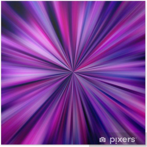 139928da Plakat Rosa og blå farger eksplosjon. • Pixers® - Vi lever for ...