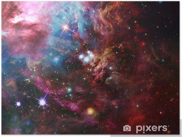 Rum nebula Plakat -