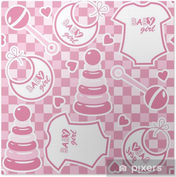 5b74b880 Plakat Sømløs baby bakgrunn • Pixers® - Vi lever for forandring