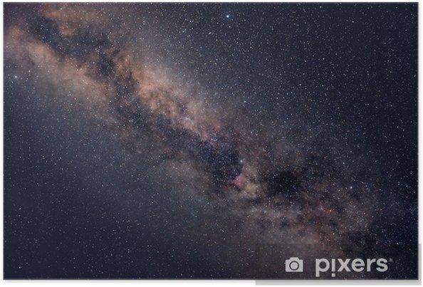 Starry nattehimmel Plakat -
