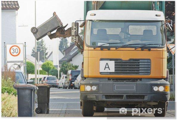 Affaldsservice urban genbrug affald og affaldsservice plakat • pixers® - vi lever