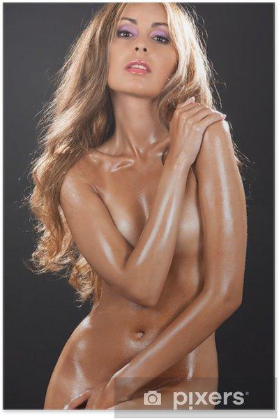 naken kvinne
