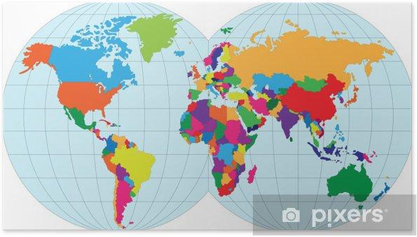 kart over verden