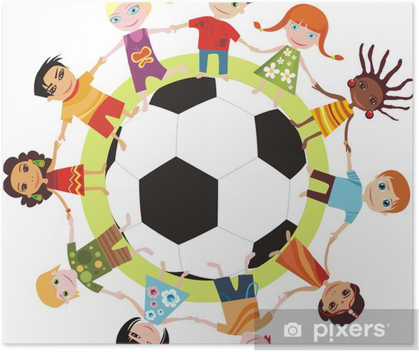 19ac9b4a Plakat Verdens barn • Pixers® - Vi lever for forandring