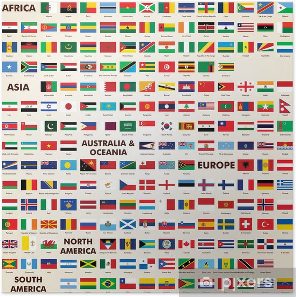 alle flagg i verden