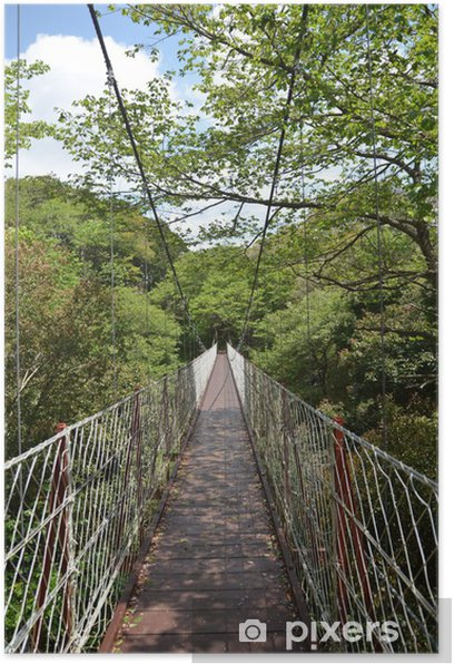 Plakát つ り 橋 - Outdoorové sporty