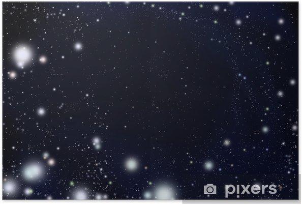 Plakát 天 の 川 銀河 - Hvězdy