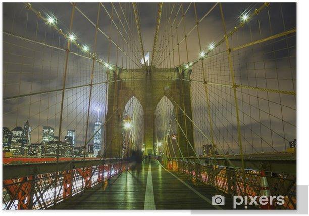 Plakát Бруклинский мост - Amerika