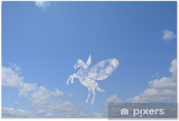Plakát 雲 の ペ ガ サ ス - Nebe