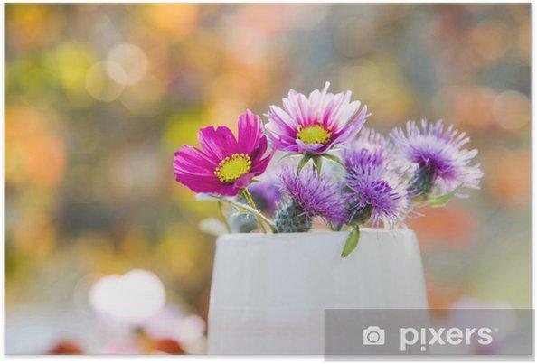 Plakát カ ッ プ と お 花 - Květiny
