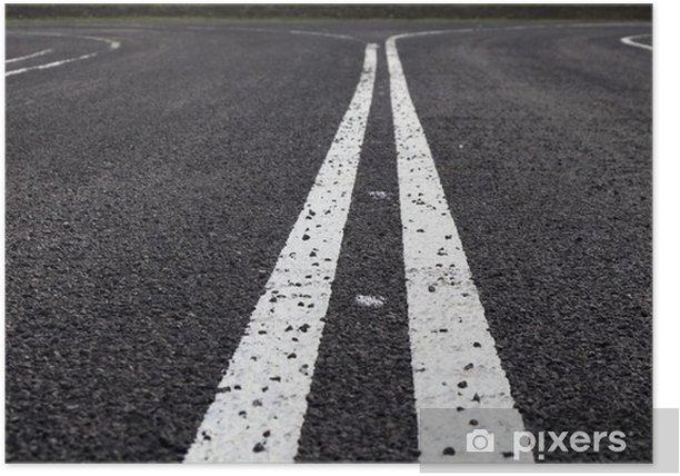 Plakát Асфальтовая дорога - Pozadí