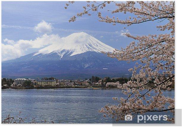 Plakát 春 の 富士山 - Témata