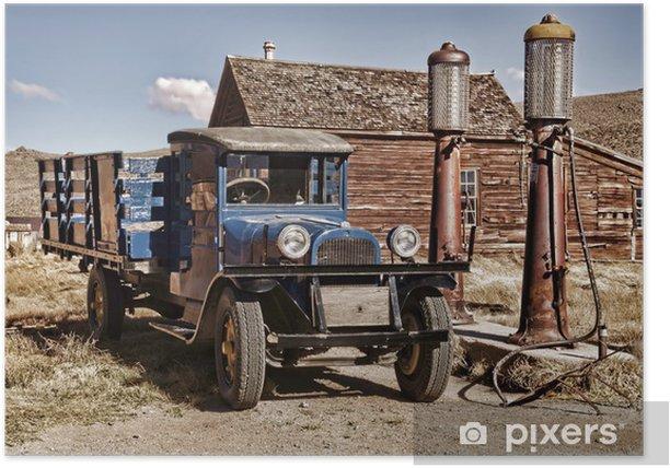 Plakat 1927 ciężarówka - Transport drogowy