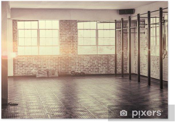 Plakat A strzał z siłowni - Sporty indywidualne
