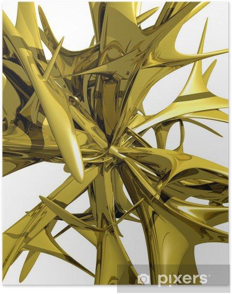 Plakat Abstrakcja - Abstrakcja
