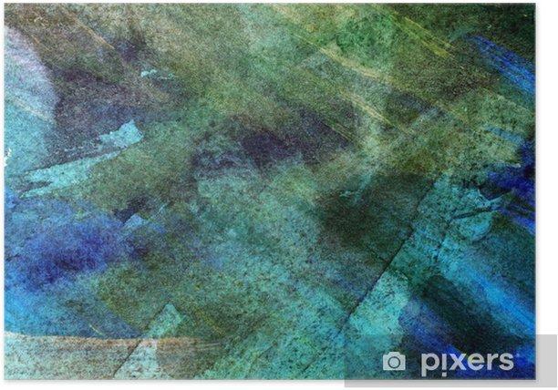 Plakat Abstrakcyjne ciemnym tle grunge - Zasoby graficzne
