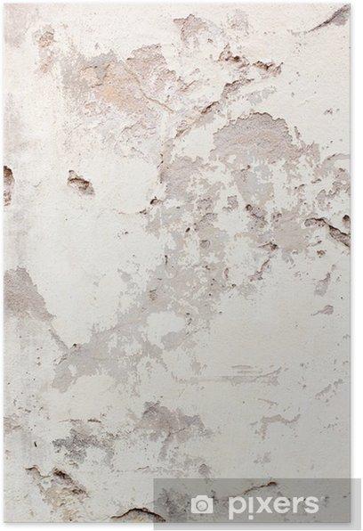 Plakat Abstrakcyjne tło ściany uszkodzone - Tematy