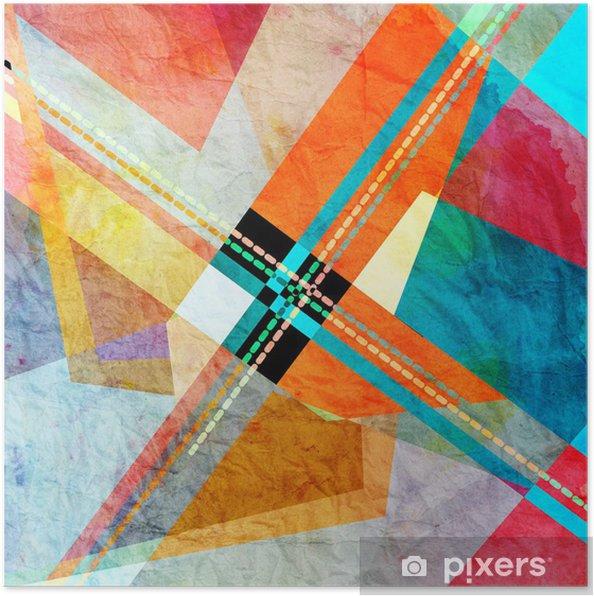 Plakat Abstrakcyjne tło - Tła