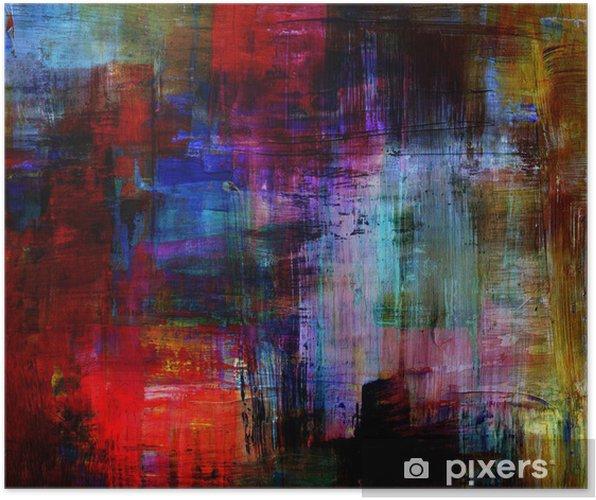 Plakat Abstrakt - Sztuka i twórczość