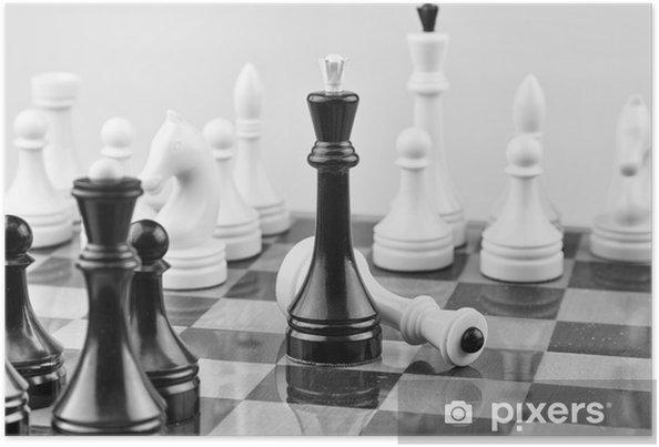 Plakát šachovnice - Hry