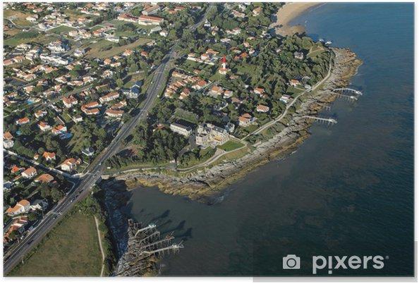 Plakat Aerial gzyms Ziemia Negro Saint-Palais-sur-Mer - Inne Inne