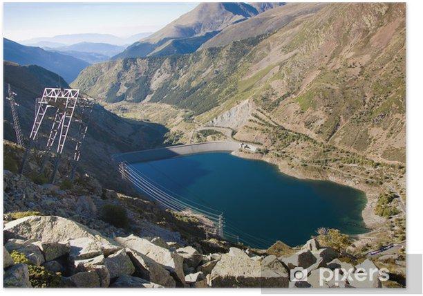 Plakat Aiguestortes park narodowy - Góry