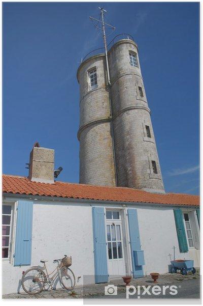 Plakát Aix ostrov - Město