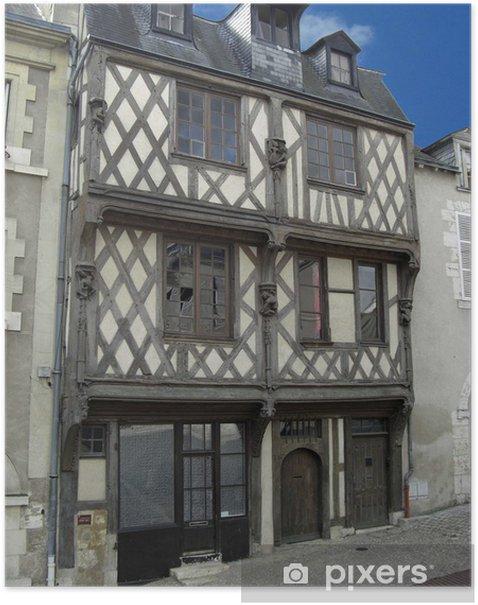 Plakat Akrobaci główna Blois - Europa